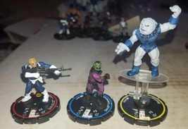 WIZKIDS MARVEL HEROCLIX CLOBBERIN TIME 3 FIGURE LOT - $1.50