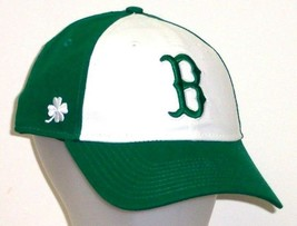 Boston Red Sox New Era Green / White Core Classic 9Twenty Adjustable Slouch Hat - $18.99