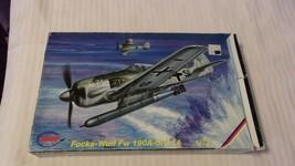 1/72 Scale MPM Models German Focke-Wulf FW190A-5V14 Airplane Kit BNOS #7... - $29.70