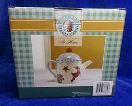 Paula Deen At Home Sugar Cookie Suite Hot Cocoa Pot Teapot w Lid 6 Cup NIB - $22.91