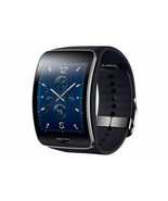 Samsung Galaxy gear S SM-R750 Curved AMOLED Smart Watch Black Wi-Fi No Box - $219.00