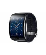 Samsung Galaxy gear S SM-R750 Curved AMOLED Smart Watch Black Wi-Fi No Box - $219.00