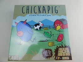 Chickapig Board Game NEW SEALED  FREE SHIPPING  Family Board Game 8+ 2-4... - $19.79