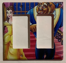 Beauty and the beast Light Switch Outlet duplex wall Cover Plate Home Decor image 6