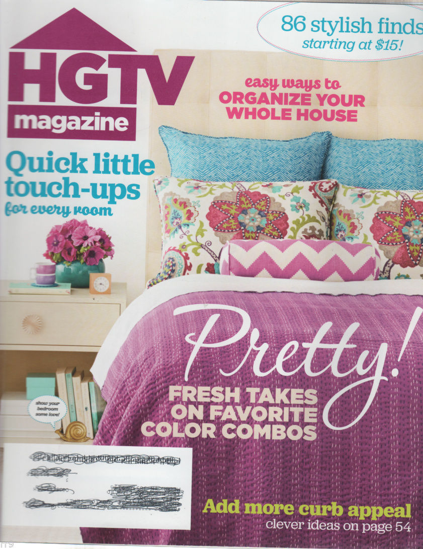 Primary image for HGTV Magazine DIY March 2015 Organize Your Whole House
