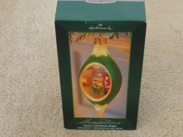 2005 Hallmark Powerbox Illuminations Powerbox Santa's Christmas Magic Or... - $8.88
