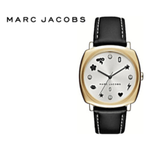 Marc Jacobs Women Mandy Charms And Crystals Black Watch MJ1564 Nwt - $180.66