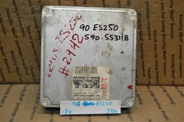 1990 Lexus ES250 Engine Control Unit ECU 8966132560 Module 184-5B6 - $41.58