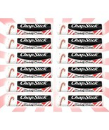 12 ChapStick Candy Cane Holiday Lip Balm Christmas LIMITED EDITION .15 OZ - $20.22