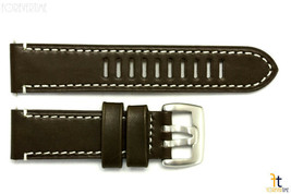 Luminox 1801 Field Auto 23mm Dark Brown Leather Watch Band Strap - $61.15