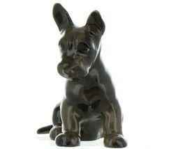 Hagen Renaker Pedigree Dog Scottish Terrier Pup Ceramic Figurine image 3