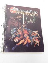 Vintage 1985 Thundercats Double Cover Spiral Theme Notebook Made in USA image 3