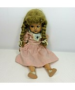 "Vintage McGuffy Ana Doll Madame Alexander Composition Mohair Wig 16"" As ... - $44.51"