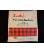 "Vintage Scotch Brand POLYESTER FILM TAPE No. 850 Silver 1/2"" W Approx. 2... - $12.86"