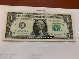 United States $1.00 banknote 2013  #6 - $4.95