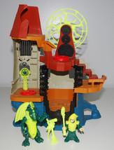 Imaginext Castle Wizard Tower Playset Figures Fisher-Price Toys Wizard D... - $24.23
