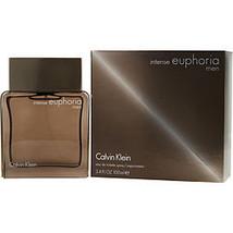 Euphoria Men Intense By Calvin Klein Edt Spray 3.4 Oz - $110.00
