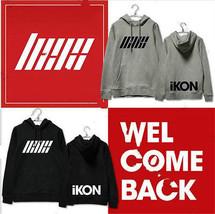 KPOP IKON Showtime Cap Hoodie Sweater Unisex JI... - $12.99