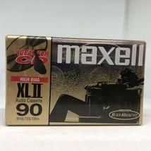 Maxell XL II 90 Sealed Compact Cassette High Bias Type II CrO2 - $9.85
