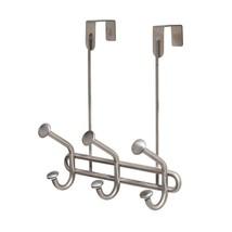 InterDesign Forma Ultra Over Door Storage Rack - Organizer Hooks for Coa... - $30.59