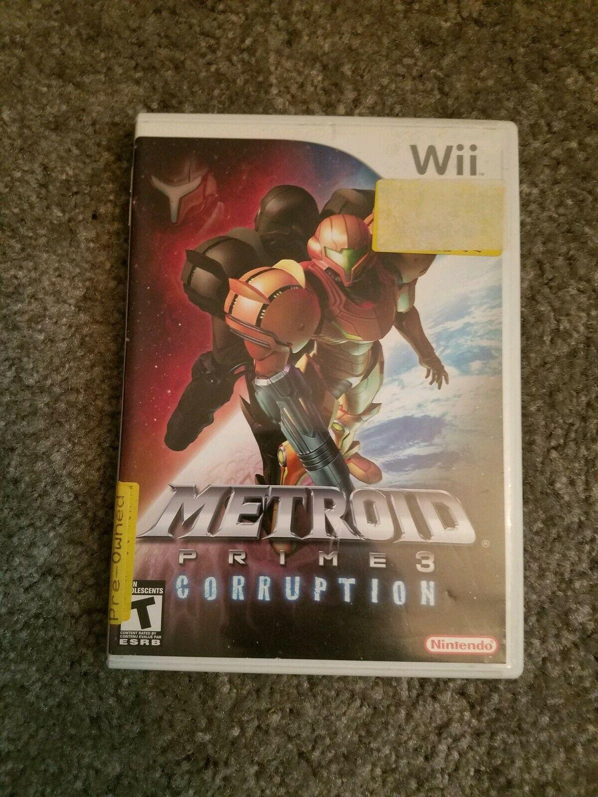Metroid Prime 3: Corruption (Nintendo Wii, 2007)