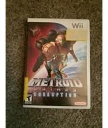 Metroid Prime 3: Corruption (Nintendo Wii, 2007) - $10.89