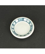 "John Maddock & Sons Blue White Butter Pat 3"" Plate Manhattan - $4.99"