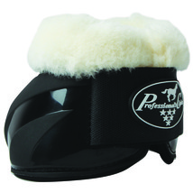Large Professionals Choice Spartan II Horse Bell Boots Black U--BLA - $39.55