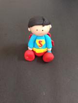 Superman inspired fondant cake topper - $19.00