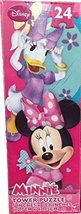 Disney Minnie Mouse 24 Piece Tower Jigsaw Puzzle (Assorted, Designs Vary) - $6.18
