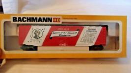 HO Scale Bachmann 51' Box Car, Bicentennial 1776-1976 Thomas Jefferson BNOS - $22.28