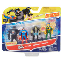 Justice League Action Mighty Minis Superman, Lobo, & Hawkman 3 Pack NIP - $9.88