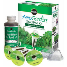 AeroGarden Gourmet Herb Seed Pod Kit - 3 Pods - New Sealed - £12.07 GBP