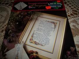 Inspirational Prayers Cross Stitch Leaflet VCL-20118~The Lord's Prayer - $7.00