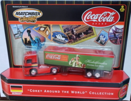 `COCA-COLA Around The World Collection #2  MatchBox Rig Collectibles Ger... - $10.95