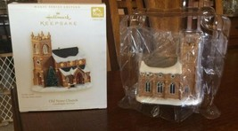 Hallmark Old Stone Church Candlelight Services 9th Magic Series Ornament... - $8.99