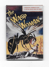 The Wasp Woman Movie Poster Image Refrigerator Magnet, NEW UNUSED - $3.99