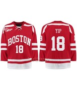 Brandon Yip #18 Boston University Hockey East Premier NCAA Jersey - $69.98