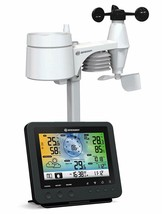 BRESSER 5 IN 1 Center Station Weather Wifi Screen LCD To Colour 100 – 240V - $297.95