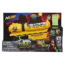 Nerf Zombie Strike Biosquad Zombie Eraser ZR-100 Blaster zombie repellen... - $31.64