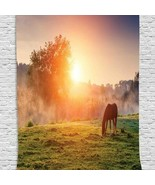 Tapestry Horse Sunset Hill Print Wall Hanging Backdrop 9971 - $34.60