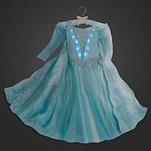 Disney Store Disfraz con Luz Elsa Frozen Vestido Princesa Talla 10 - $2.409,45 MXN