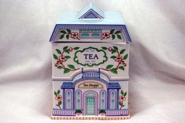 Lenox 1990 The Lenox Village Victorian House Tea Canister - $38.11