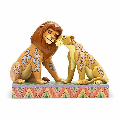 Primary image for Enesco Disney Traditions by Jim Shore The Lion King Simba and Nala Snuggling Fig