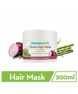 Mamaearth Onion Hair Mask For Hair Fall Control 200 ml Free Shipment - $20.85
