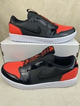 Nike Air Jordan 1 Retro Low Infra-Bred Infrared Womens Slip On AV3918-600 Sz 11 - $108.85