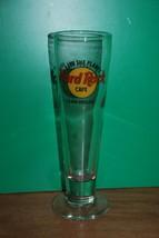 Hard Rock Cafe Las Vegas Save the Planet Tall Beer Glass Pilsner Bar HRC - $14.95