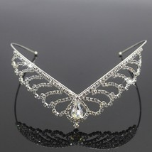 Crystal Princess Tiaras And Crowns For Girls Hair Accessories Headband C... - £6.60 GBP