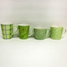 Starbucks Coffee Company Assorted Lot (4) 2005 2006 Green & White Coffee Cups - $54.32