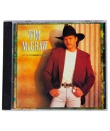 TIM MCGRAW Self-Titled SIGNED CD 1993 Curb Records Louisiana Country Sin... - $37.39